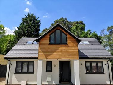 Property developer in Berkshire. New build house. CR Project Solutions. Sandhurst home 2