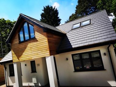 Property developer in Berkshire. New build house. CR Project Solutions. Sandhurst home 1