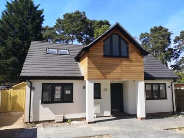 Property developer in Berkshire. New build house. CR Project Solutions. After